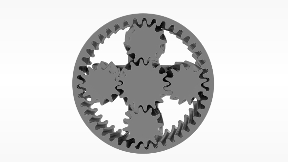 Planetary gears - 3DOcean Item for Sale