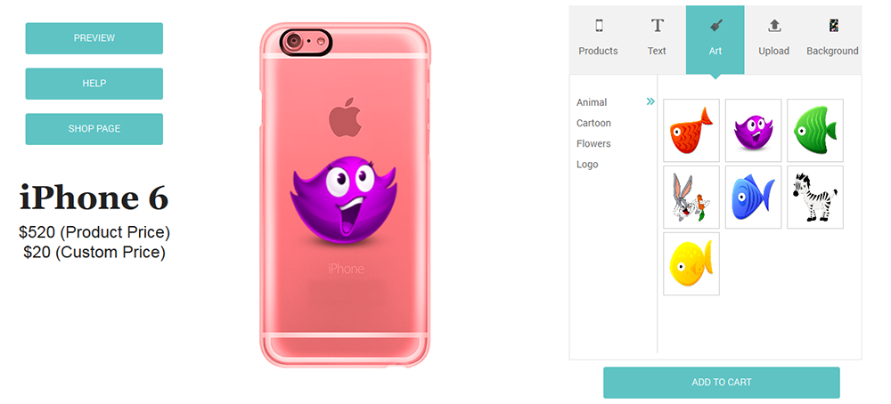 low priced 210e2 9a7b2 Mobile Case Design for WP eCommerce