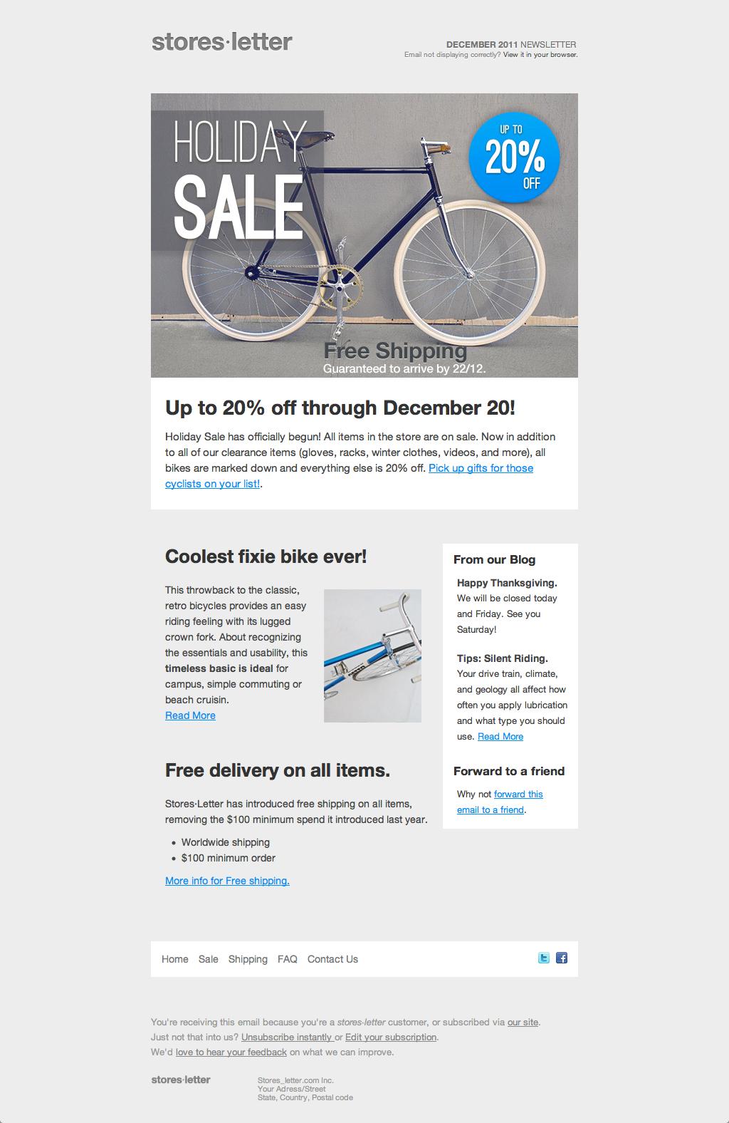 Tolle E Mail Marketing Html Vorlagen Ideen - Beispiel Anschreiben ...