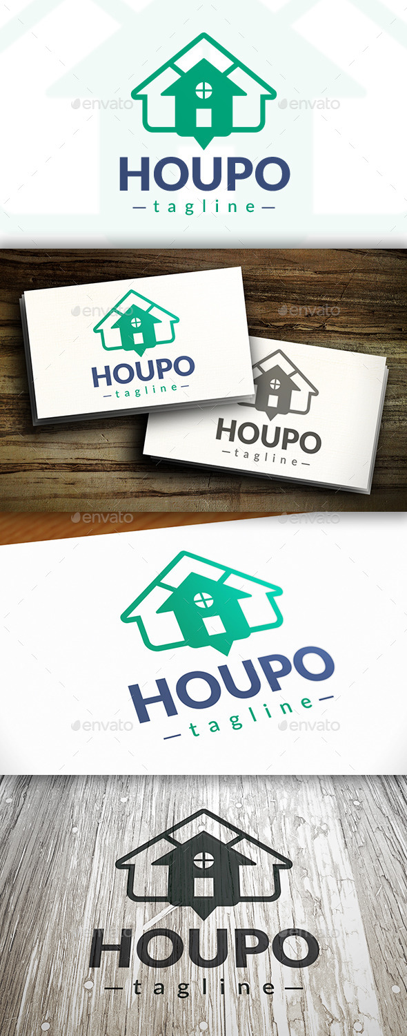 House Point Logo - Buildings Logo Templates