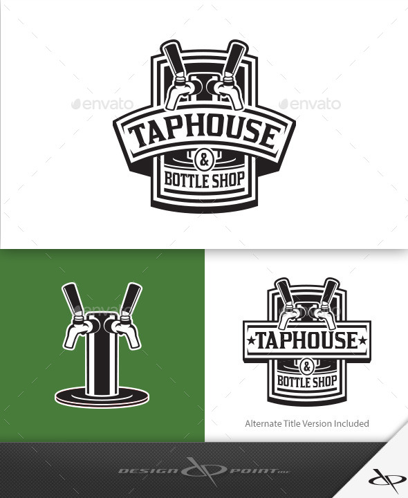 Tap House Logo - Crests Logo Templates
