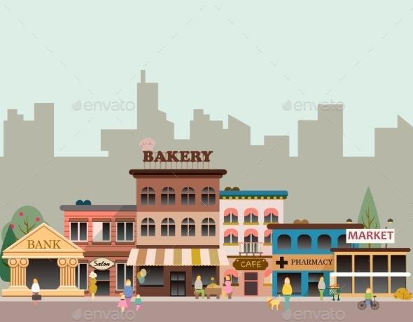 Buildings of Small Business - Buildings Objects
