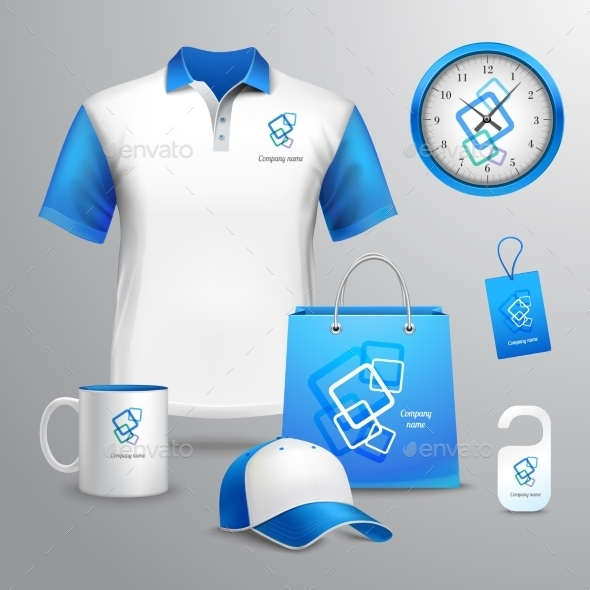 Corporate Identity Template - Retail Commercial / Shopping
