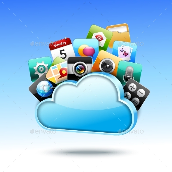 Cloud 3D Storage  - Technology Conceptual