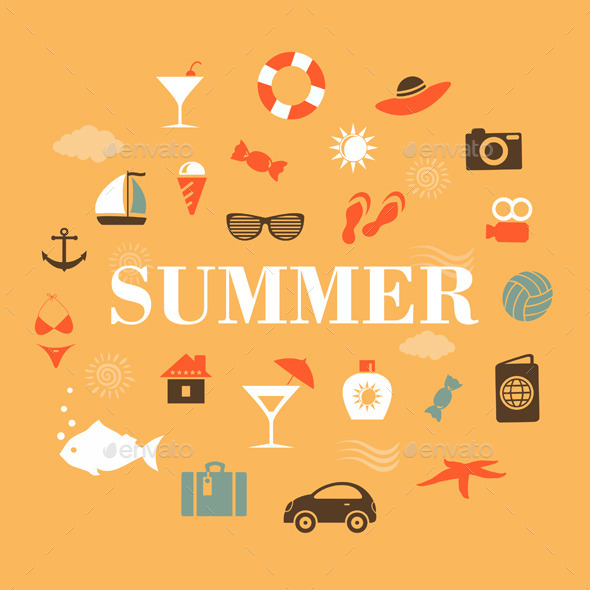 Summer Holiday - Miscellaneous Vectors