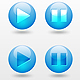 Orb Media Controls - GraphicRiver Item for Sale