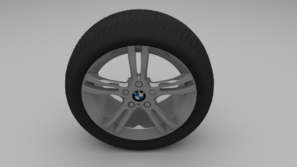BMW wheel - 3DOcean Item for Sale
