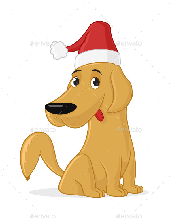Christmas Dog - Animals Characters