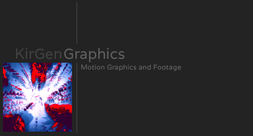 Motion Graphics and Footage