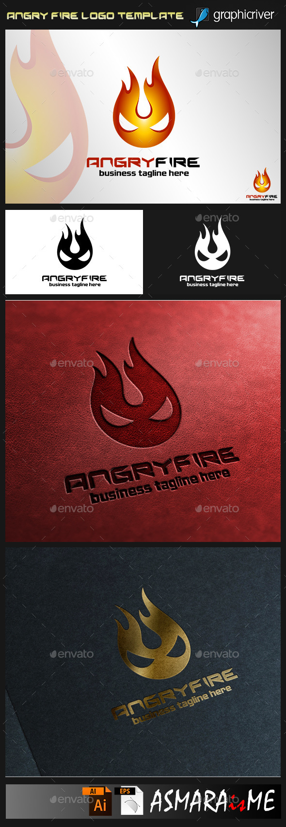 Angry Fire Logo