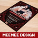 Burlesque A4 Flyer - GraphicRiver Item for Sale