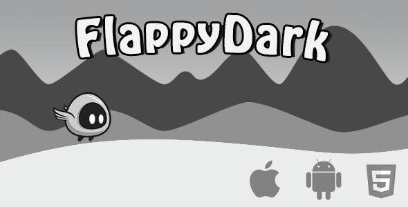 Flappy Dark - Html5 Game - CodeCanyon Item for Sale