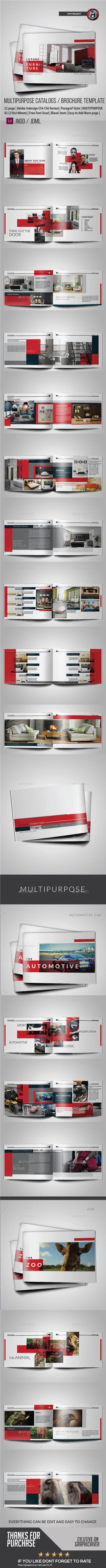 FUTURE MODERN CATALOG OR PORTOFOLIO DESIGN - Catalogs Brochures