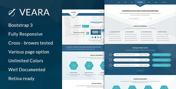Veara Professional Multi-purpose HTML5 Template