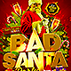 Bad Santa Flyer Template - GraphicRiver Item for Sale