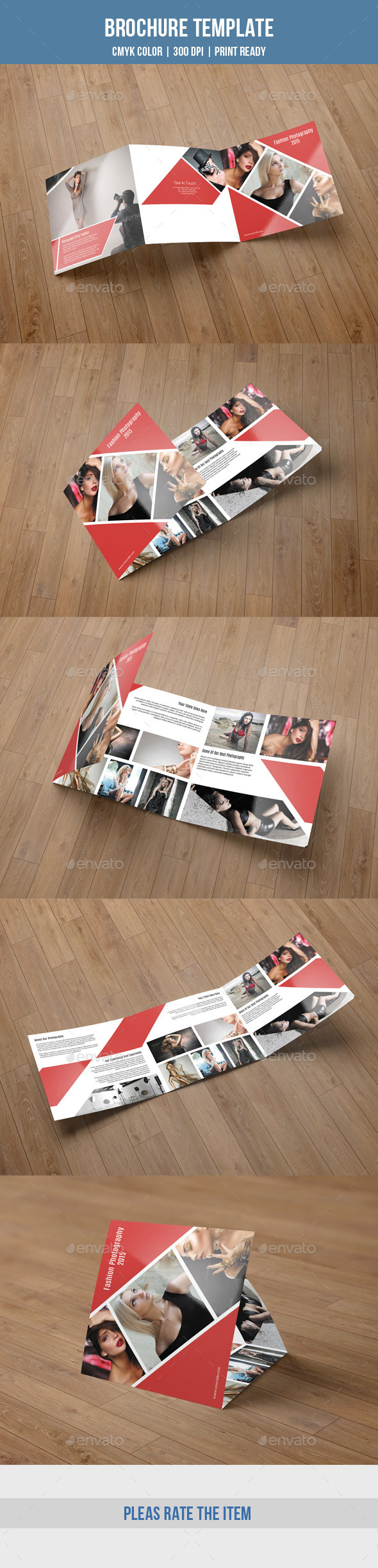 Square Trifold For Photography-V48 - Corporate Brochures
