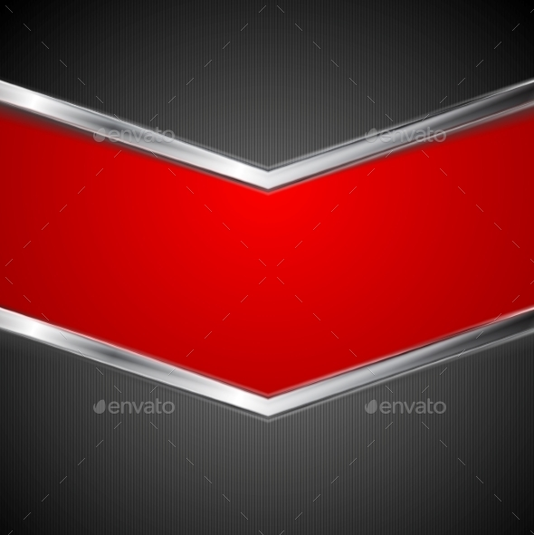 Abstract Technology Background with Metal Stripes - Backgrounds Decorative