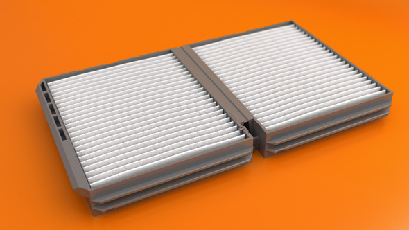 Car Air Filter - 3DOcean Item for Sale