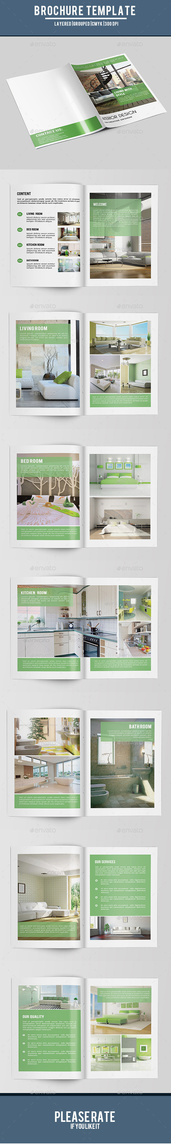 Bifold Interior Brochure-V158 - Corporate Brochures