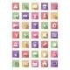 Flat Icon Set, Vector Collection - GraphicRiver Item for Sale