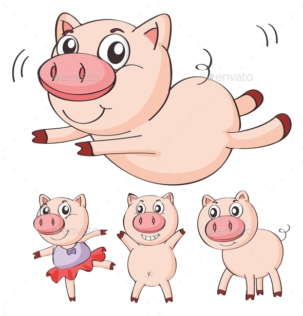 Pigs - Animals Characters