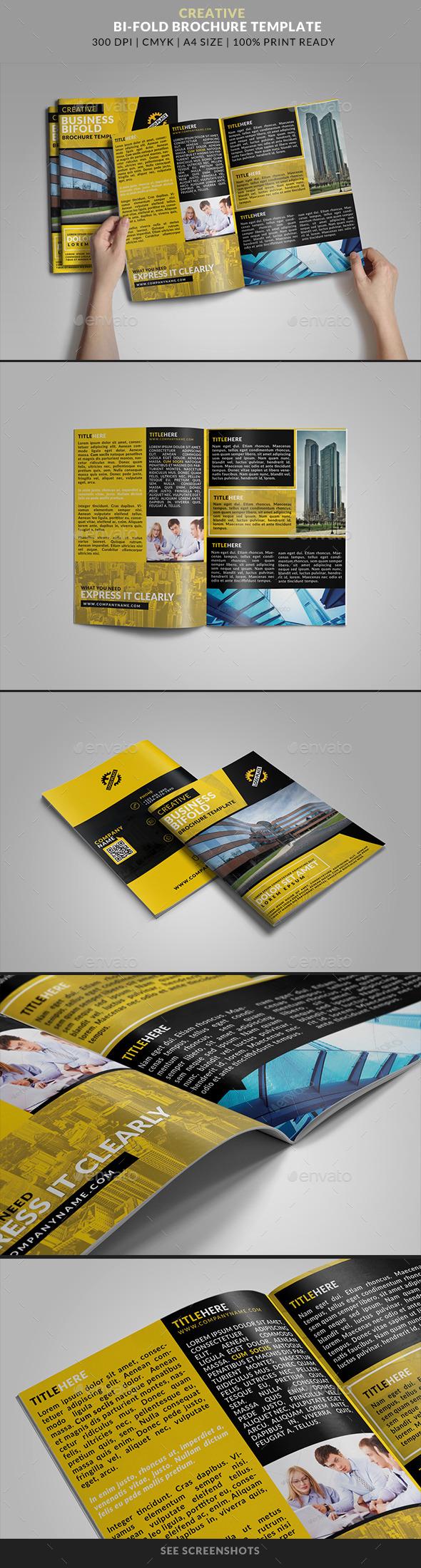 Bifold Brochure 16 : Creative Business - Corporate Brochures