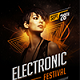 Electronic Festival Flyer - GraphicRiver Item for Sale