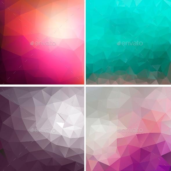 Geometric Background - Backgrounds Decorative