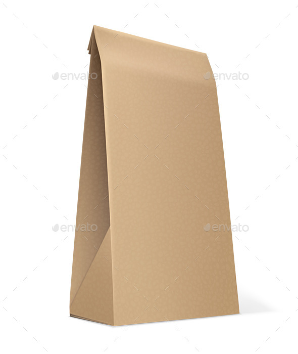 Paper Bag  - Man-made Objects Objects