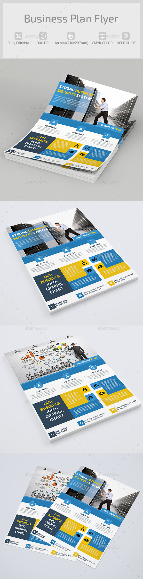 Business Plan Flyer - Corporate Flyers