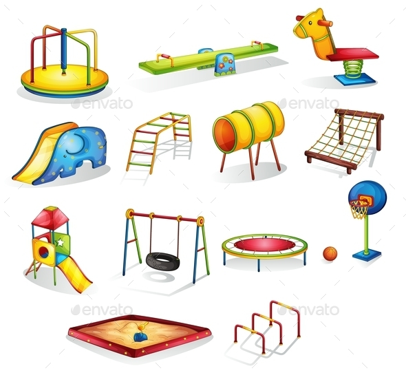 Play Equipment - Man-made Objects Objects