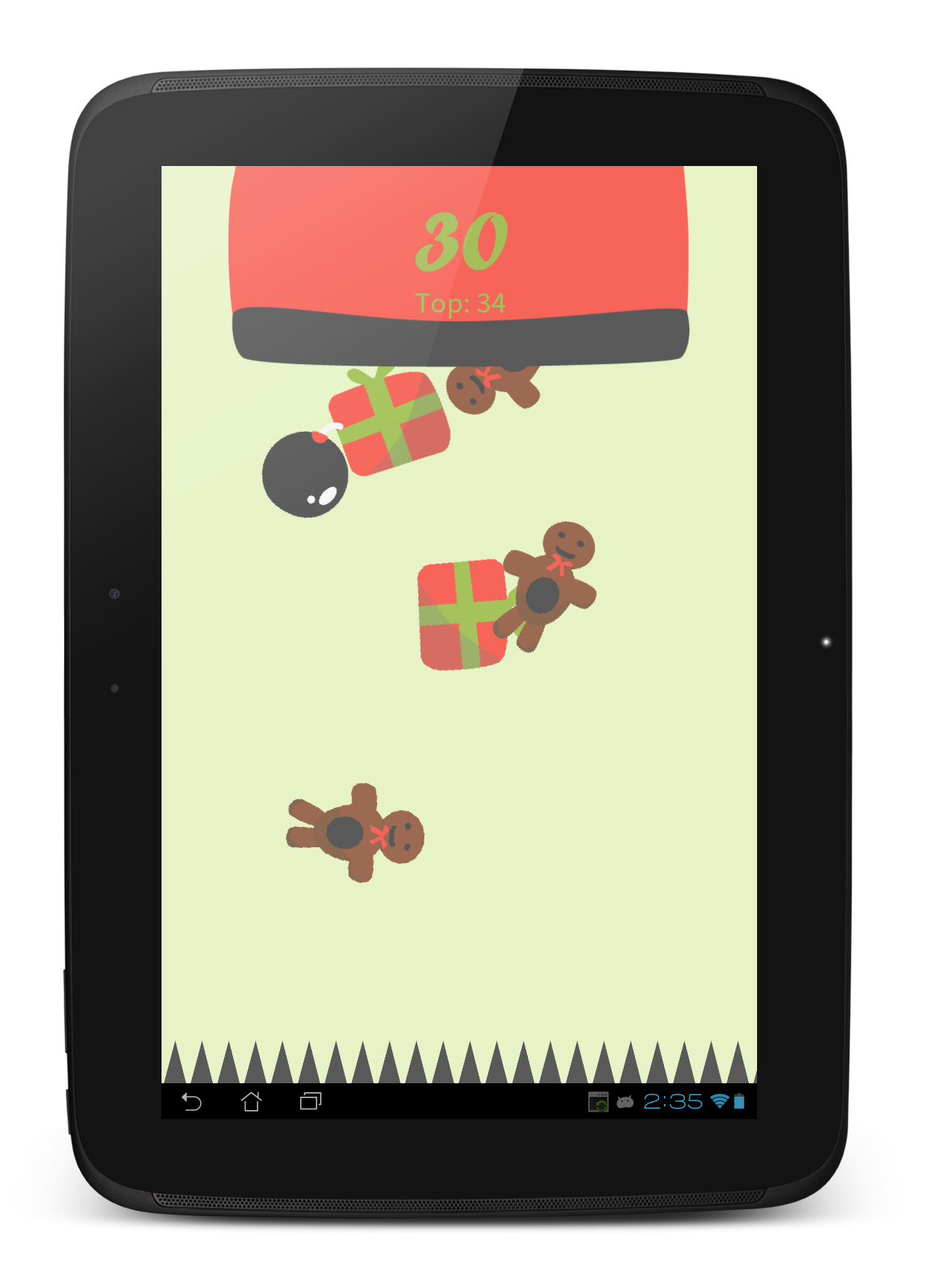 Santa S Gifts A Christmas Android Arcade Game By