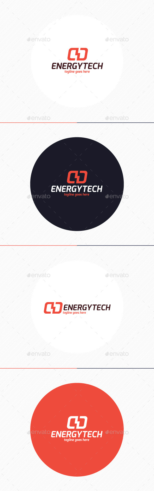 Energy Tech Logo - Symbols Logo Templates