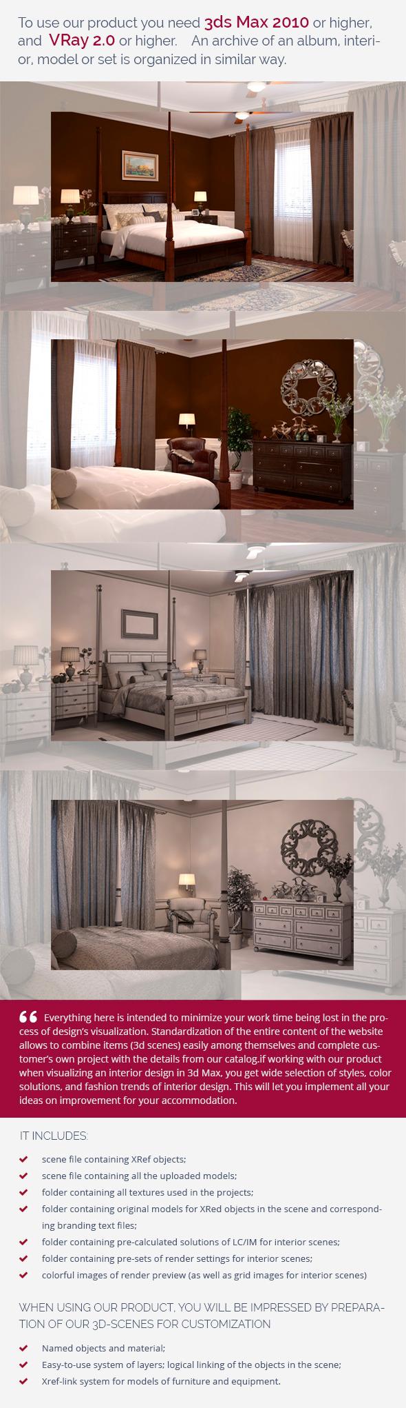 Bedroom 0413 - 3DOcean Item for Sale