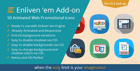 Download Enliven' em Premium Add-on: Web Promotional Icons nulled version