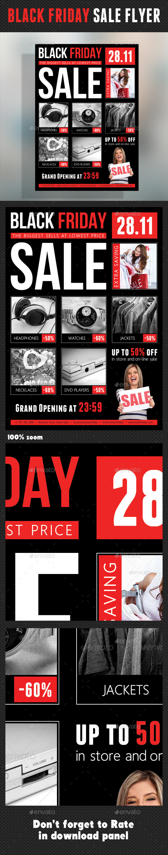 Black Friday Flyer V01 - Commerce Flyers