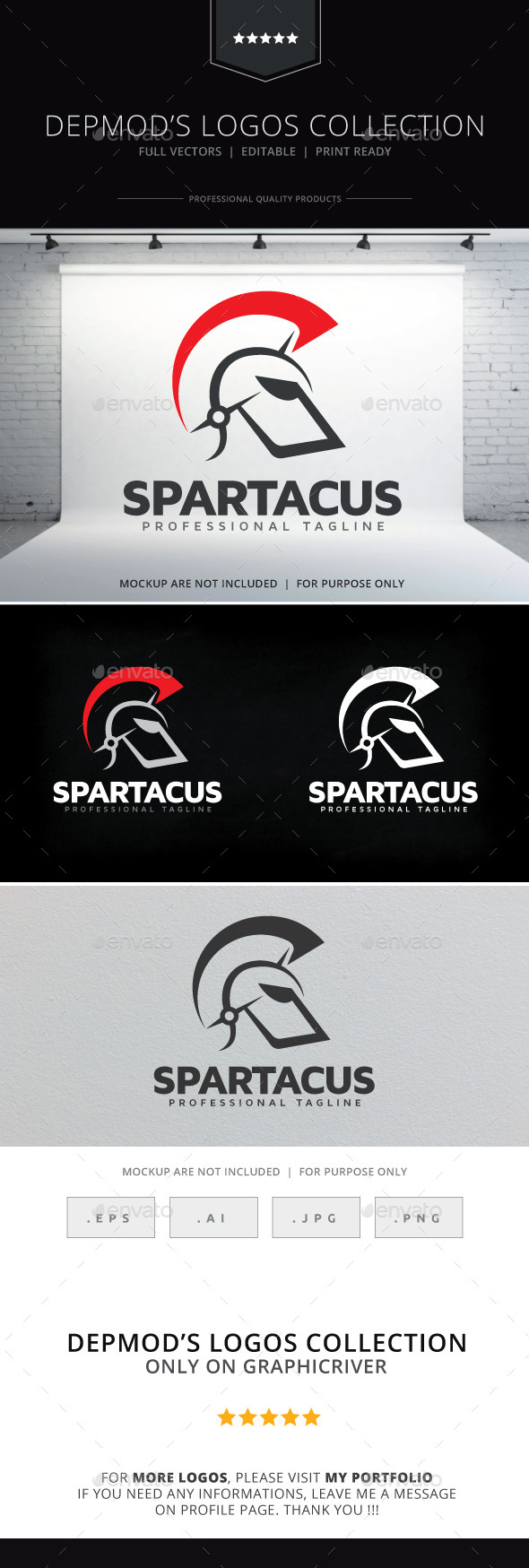 Spartacus Logo - Objects Logo Templates