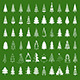 Christmas Tree Set - GraphicRiver Item for Sale