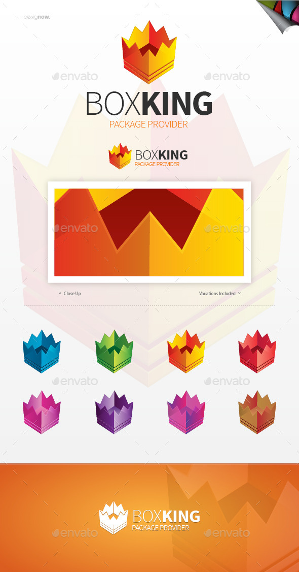 Box King Logo - Objects Logo Templates