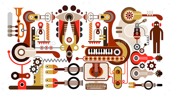 Musical Instrument Factory - Industries Business