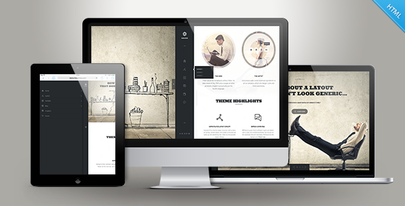 Rebloom – Creative Multi-purpose Template (HTML)