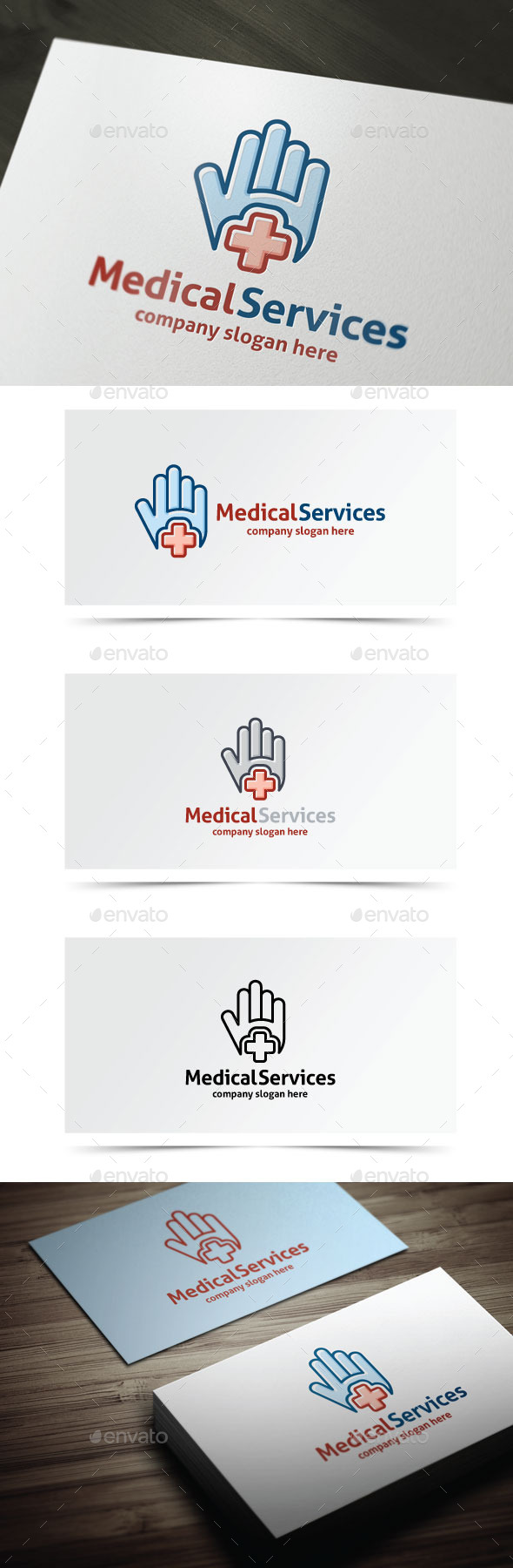 Medical Services - Objects Logo Templates
