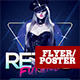 Retro Future Flyer Template - GraphicRiver Item for Sale