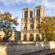 Notre-Dame Cathedral with the Seine, Day, Paris - VideoHive Item for Sale