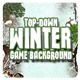 2D Toon and Realistic Winter Game Backgrounds - GraphicRiver Item for Sale