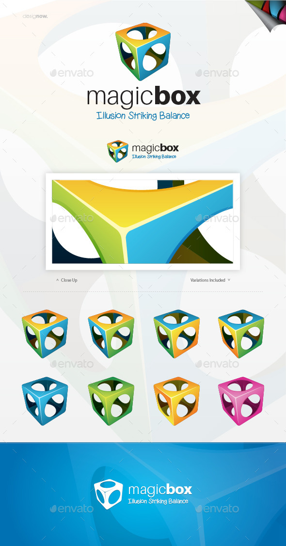 Magic Box Logo - Abstract Logo Templates