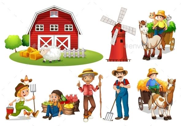 Farm Set - Concepts Business