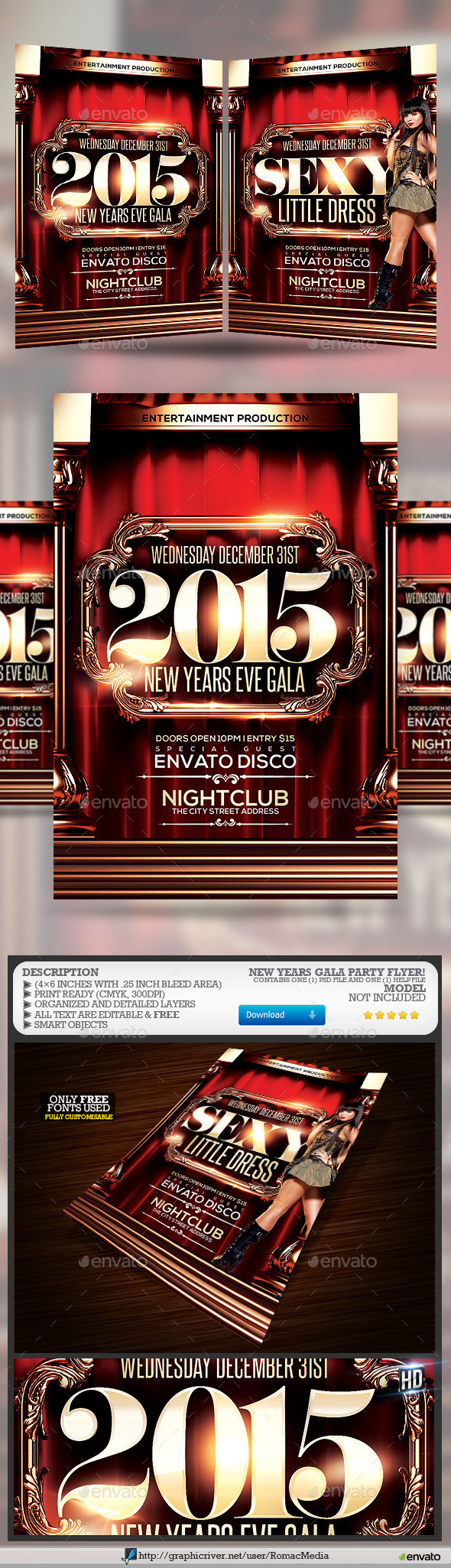 New Years Gala - Clubs & Parties Events