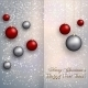 Christmas Greeting Card with Balls on Snow - GraphicRiver Item for Sale