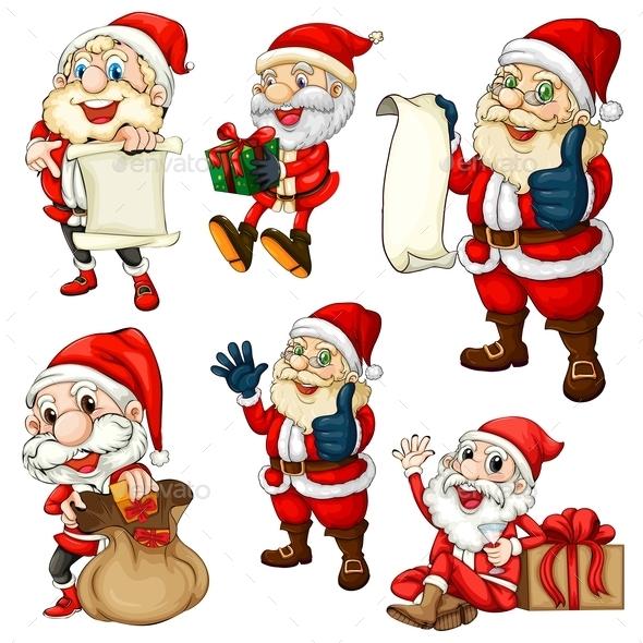 Santa Set - Christmas Seasons/Holidays